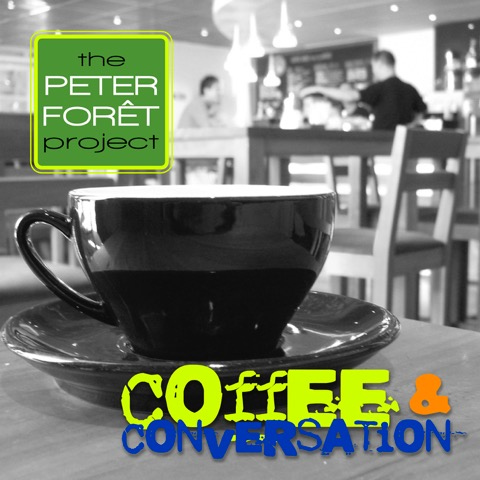Coffee and Conversation lyrics and music by Peter Foret